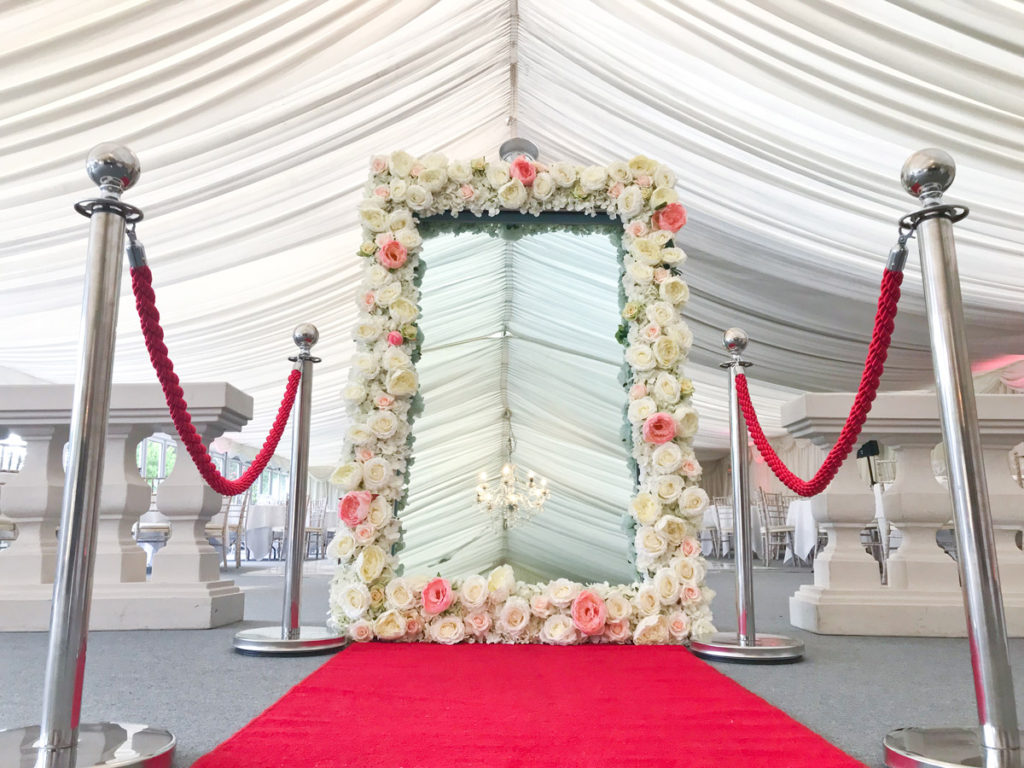Beautiful Floral Frame and VIP Styling