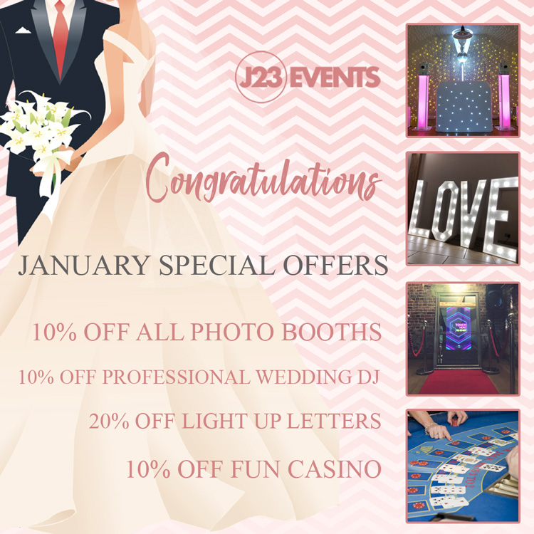 Wedding Special offers on Photo booths and magic Mirrors