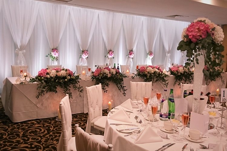 Wedding Drape hire in Berkshire